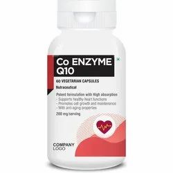 Co Enzyme Q10, Packaging Type: Plastic Container, 60 Capsules