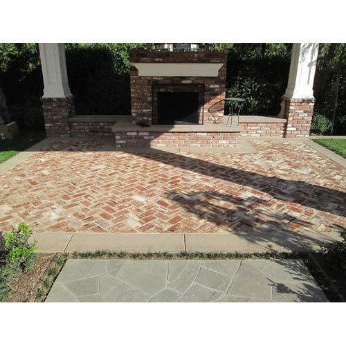 Brick Flooring India: Floor Tiles Essen Tiles(Tricon) Brick Paver Tile, Rs 35