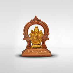 Brass Ganesh with Arch