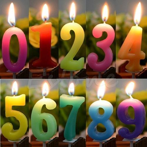Number Candle At Rs 150 Dozen
