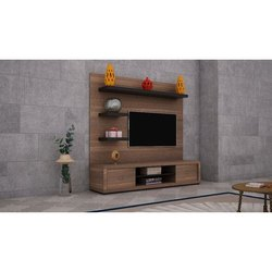 Wooden Designer TV Cabinet, Warranty: 3 Years