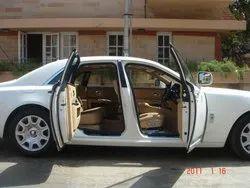 White Luxury Car Hire Bengaluru