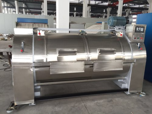 Heavy Duty Industrial Side Loading Washing Machine