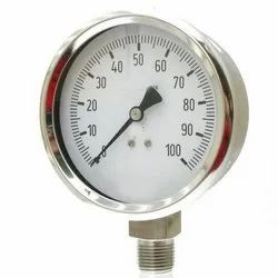 ANI Stainless Steel Tube Pressure Gauge