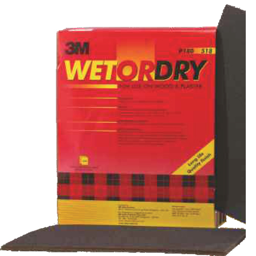 3M 518 Wetordry Emery Sheets