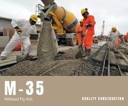 M-35  Without Fly Ash Ready Mix Concrete