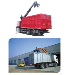 Orange Peeling Truck Loading and Unloader Crane