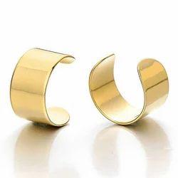 Gold Round Ear Cuff