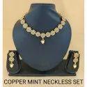 Copper Mint Necklace Sets