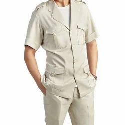 The Fashion Hub Plain Mens Safari Suit