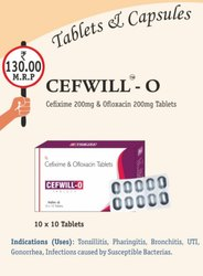 Cefixime & Ofloxacin Tablets