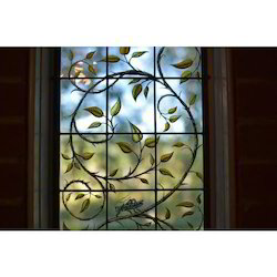 Contemporary Stained Window Glass