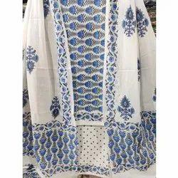 Namdev Handicrafts Printed Cotton Regular Wear Unstitched Suit