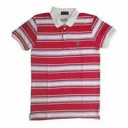 Cotton Designer Men Polo T Shirt, Size: M - XXL