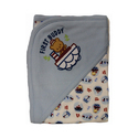 Baby Looney Tunes Hooded Wrapping Sheets