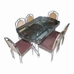 Modern SS Dining Table Set, for Home
