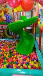 Spiral Slide With Ball Pool