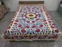 Suzani Embroidery Bedsheet
