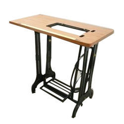 Merveilleux Cast Iron, Wood Sewing Machine Stand With Table