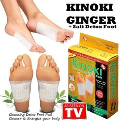 Kinoki Detox Foot Pads (White, Golden)