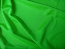 Green Plain Polyester Interlock Fabrics
