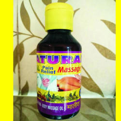 Natural Herbal Pain Relief Massage Oil