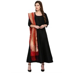 Stitched Plain Bollywood Anarkali Suits