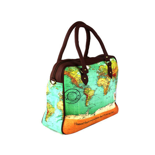 World map travel bag at rs 970 piece travelling bags world map travel bag gumiabroncs Gallery