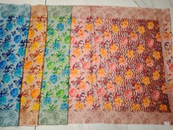 Ladies Printed Kota Silk Saree