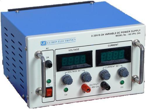 0-30V/0-2A Variable DC Power Supply - Ultron Electronics