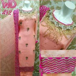 Georgette Party Suit W-492