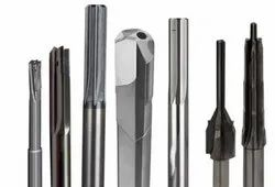 Straight & Spiral Fluted Solid Carbide Reamer