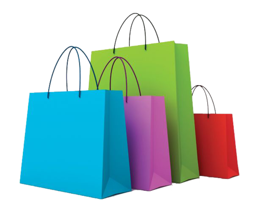 craft paper folding shopping bags rs 9 piece laser edge graphics
