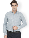 Light Grey Full Sleeve Formal Shirts
