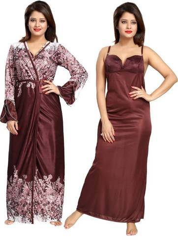6d9bd79d71 Ladies Printed Full Length Two Piece Night Dress, Rs 450 /piece   ID ...