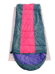 Traveling Camping Trekking Outdoor Sleeping Bag-Red & Green