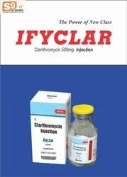 IFYCLAR-INJECTION Allopathic Clarithromycin 500 Mg Injection, For Commercial, Packaging Size: 1x1 Tray Pack