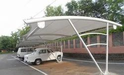 Poly Carbonate Car Parking Shed