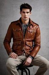 Dark Brown Leather Jackets