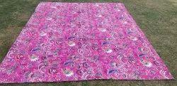 Cotton Kantha Quilt Bedspread Kantha Throws Queen Size Quilt