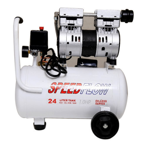 1 HP Oil Less Air Compressor