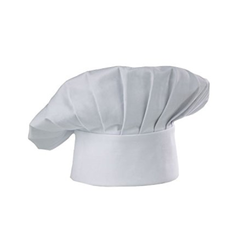 Plain White Catering Chef Cap
