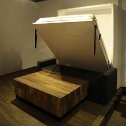 ModBit PU Voguish Combo - Storage Sofa and Wall Bed