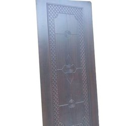 Exterior Polished Wooden Safety Door, for Home