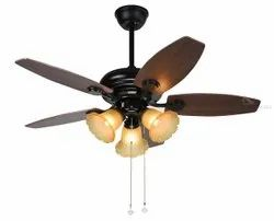 70 Electricity K-C124 Wooden Brown Fancy Ceiling Fans With LED & Remote
