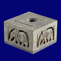 Soap Stone Candle Holder