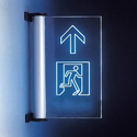 Edge Lit Exit Sign