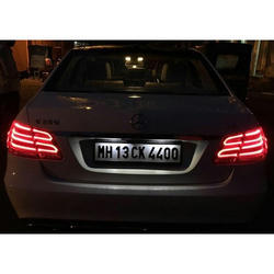 Embossing Car Number Plate