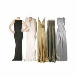 Plain Party Wear Women Formal Dress