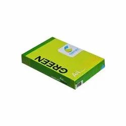 White Century Green 70 GSM, Packaging Type: Box